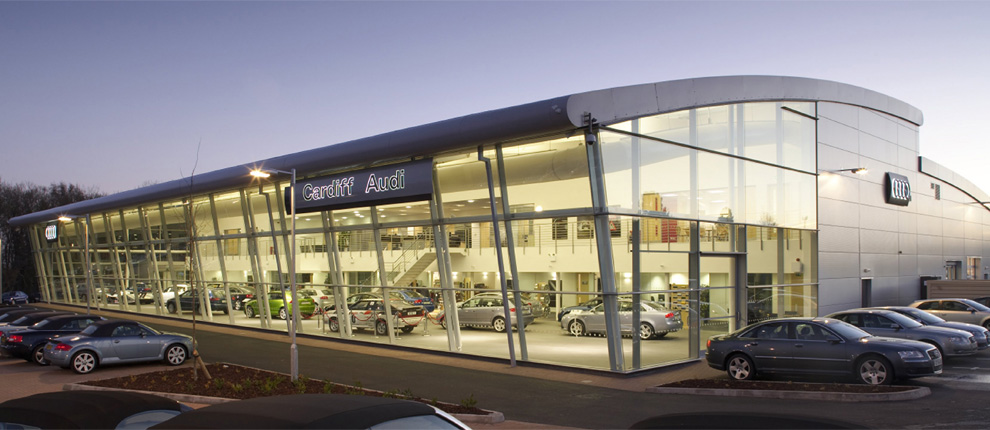Audi Museum, Car Showroom & New Roundabout Scheme, Cardiff Gate Business Park