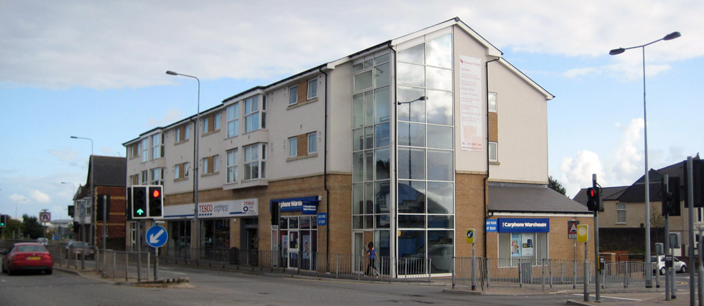Apartments and Retail Units, North Road, Cardiff