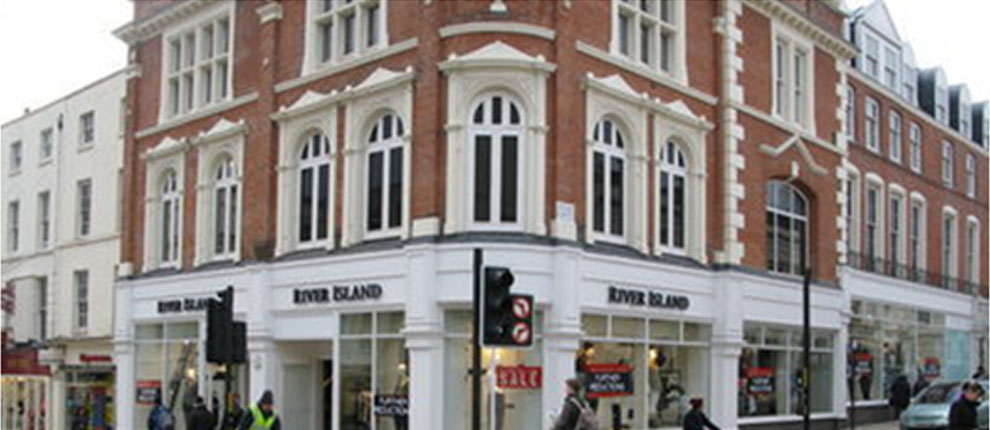 Luxury Apartments & River Island Retail Store, The Parade, Leamington Spa