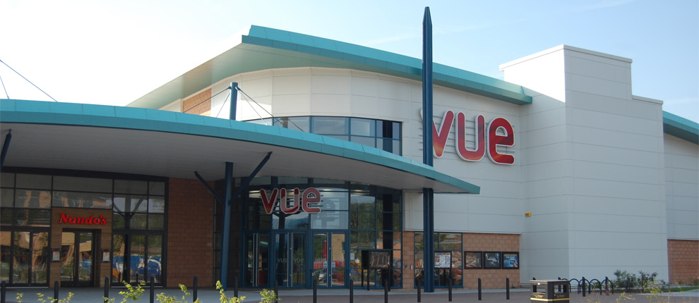 Vue Cinema and Ten Pin Bowling Building, Rhydycar Leisure Complex